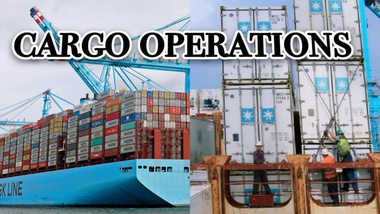 Download How do They Do Cargo Operations   Container Ship