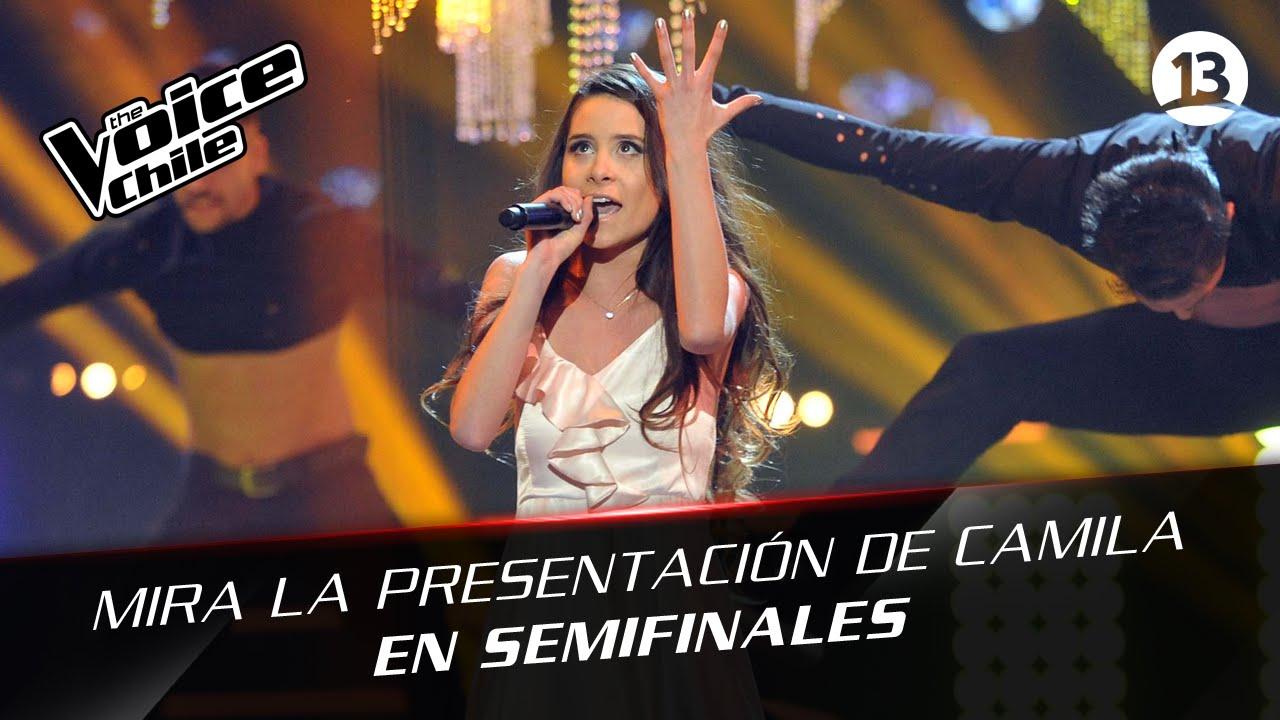 The Voice Chile | Camila Gallardo - Chandelier - YouTube