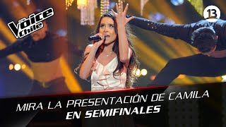 The Voice Chile | Camila Gallardo - Chandelier