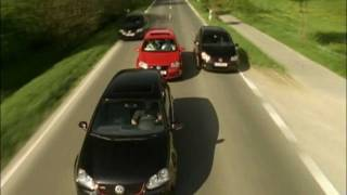 4 VW Golf 5 GTI Chase Run !
