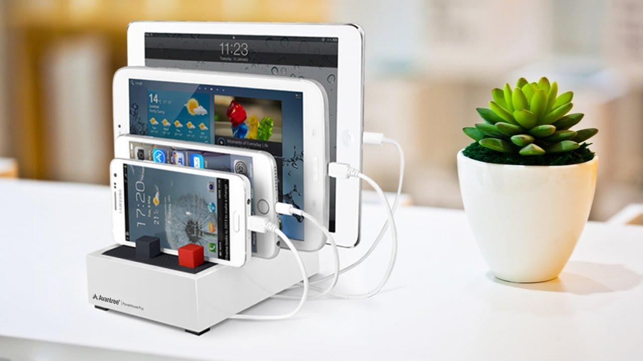 Avantree Powerhouse 4 5a 5v 22 5w Desktop Usb Charging Station