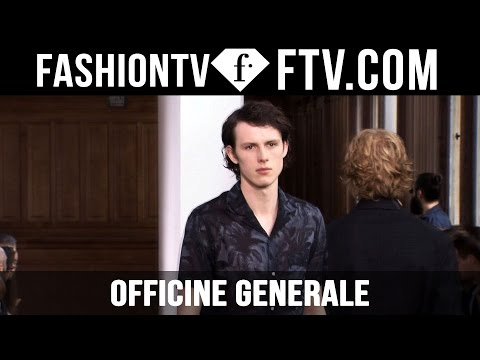 Paris Men Fashion Week Spring/Summer 2017 - Officine Generale | FashionTV