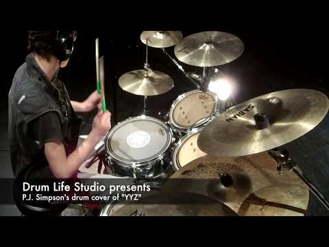 """YYZ"" drum cover by Paul Simpson