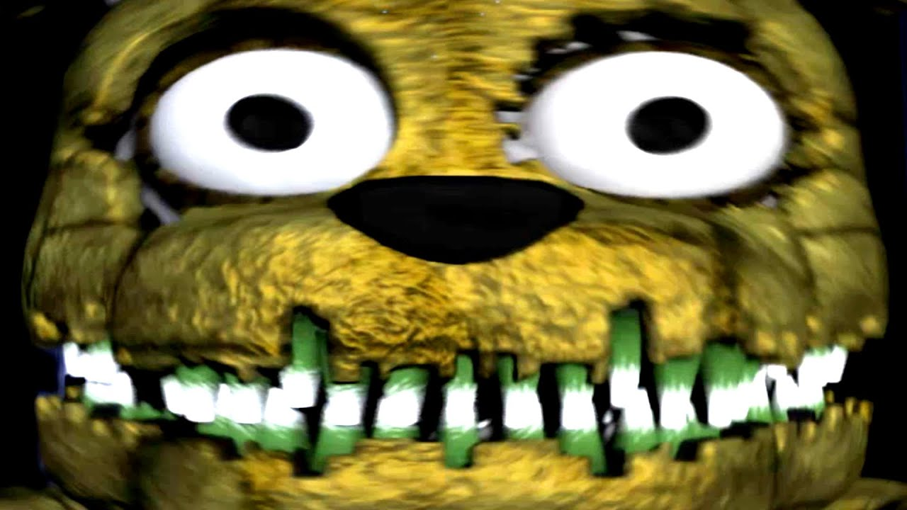 Five Nights At Freddys 4 Nightmare Plushtrap Jumpscare Youtube