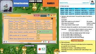 Interactive Teaching & Learning based on NCTB for Class 5 [English For Today] Unit-3 (Lesson: 3