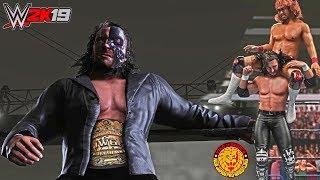 WWE 2K19: Kenny Omega EPIC Terminator Wrestle Kingdom 11 Attire Mod w/ Custom GFX ft. Tetsuya Naito