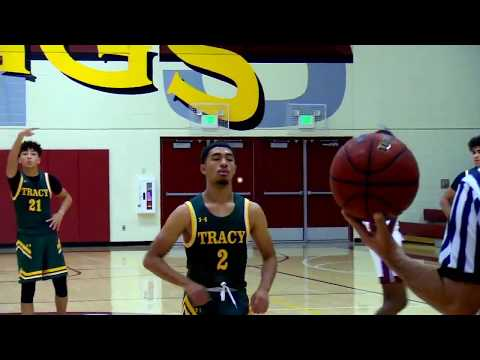 Edison (Stockton) vs Tracy High School Boys Basketball LIVE 11/24/18