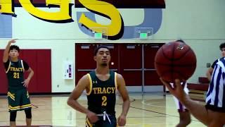 Edison (Stockton) vs Tracy High School Boys Basketball LIVE 11/24/18