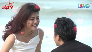 Huy Luân cầu hôn vợ lãng mạn bên bãi biển dù đã chung sống 7 năm 💑