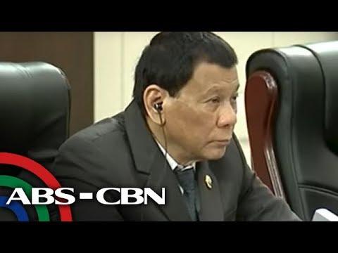 Bandila: Duterte, makikipagpulong sa mga OFW sa Hong Kong
