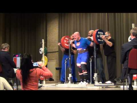 Big lifting at the Dutch Raw Nationals - Day 2