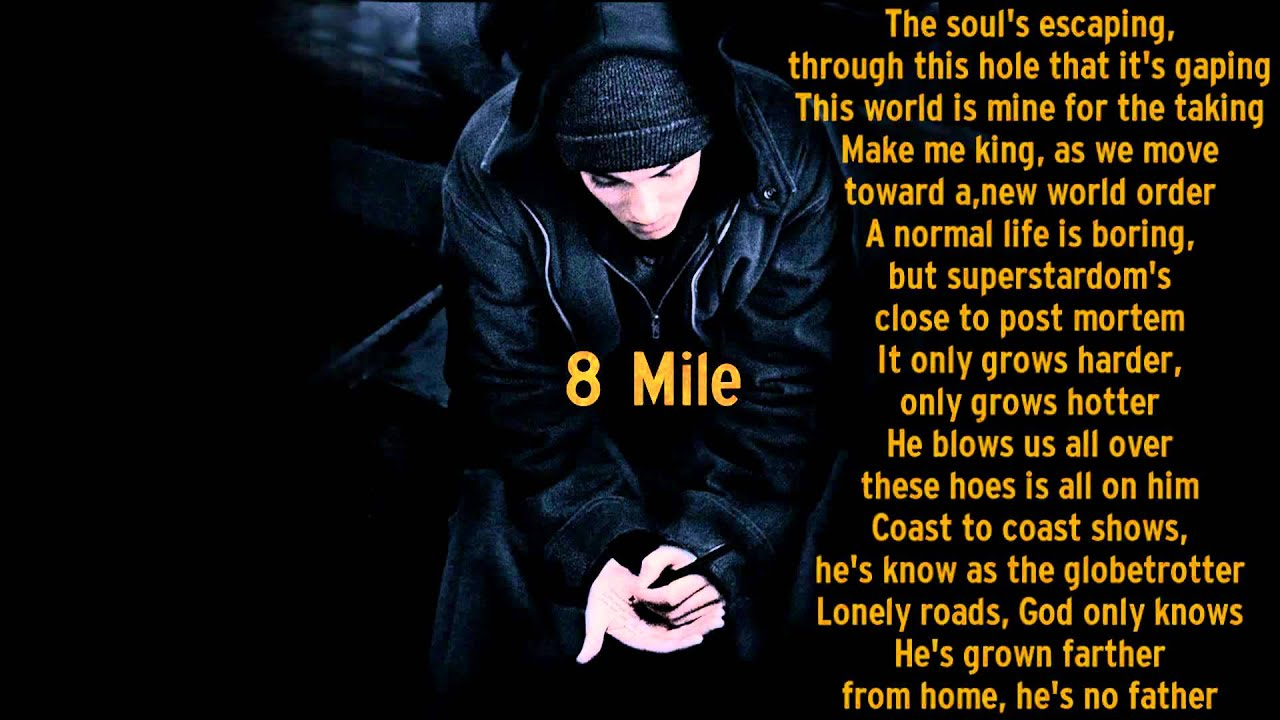 eminem lose yourself lyrics clean - photo #7