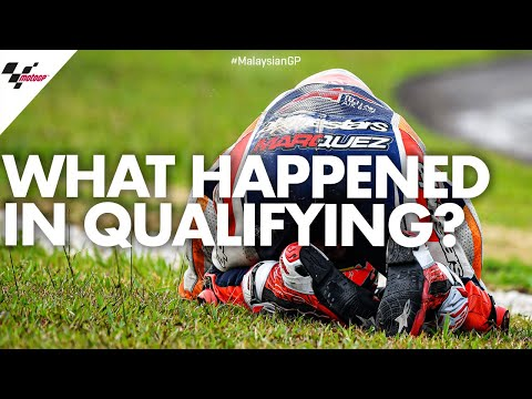 Mind games in Malaysia as Márquez crashes in Qualifying   2019 #MalaysianGP