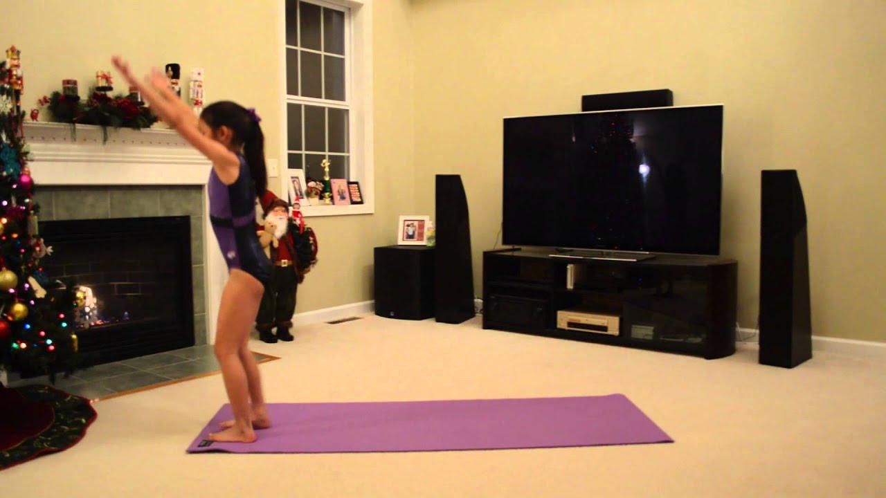 Cheyannes Seven Gymnastics Girls Audition - YouTube