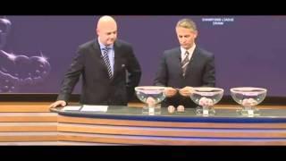 UEFA Champions League 2011 Auslosung viertelfinale (18.03.2011)