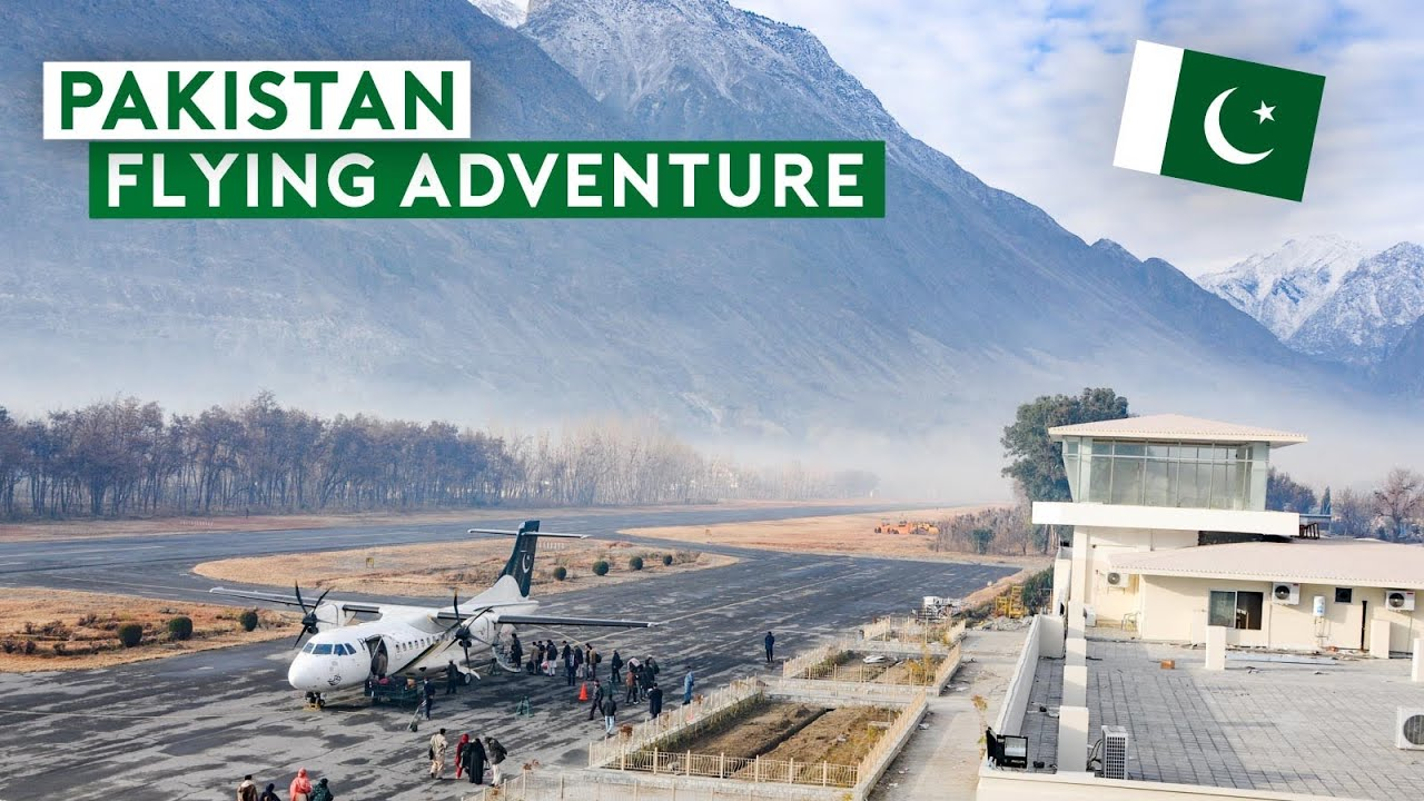 An Epic Air Adventure in Pakistan by PIA B747, B777, A310, ATR-42