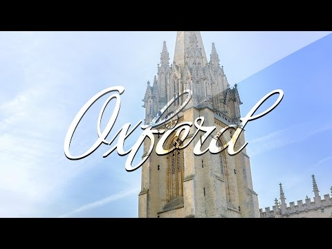 Timelapse Oxford [4K]
