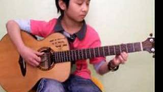 (B.J. Thomas) Raindrops_keep_Falling_on_My_Head - Sungha Jung
