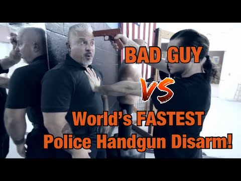Number One World's FASTEST Handgun Disarm!!! - POLICE EDITION