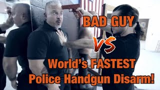 Number One World's FASTEST Handgun Disarm!!! - POLICE EDITION thumbnail