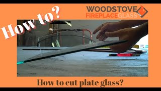 how to cut plate glass, how to cut glass