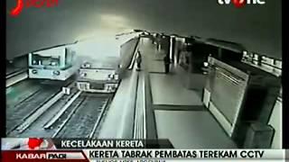 kecelakaan kereta api di argentina terekam cctv