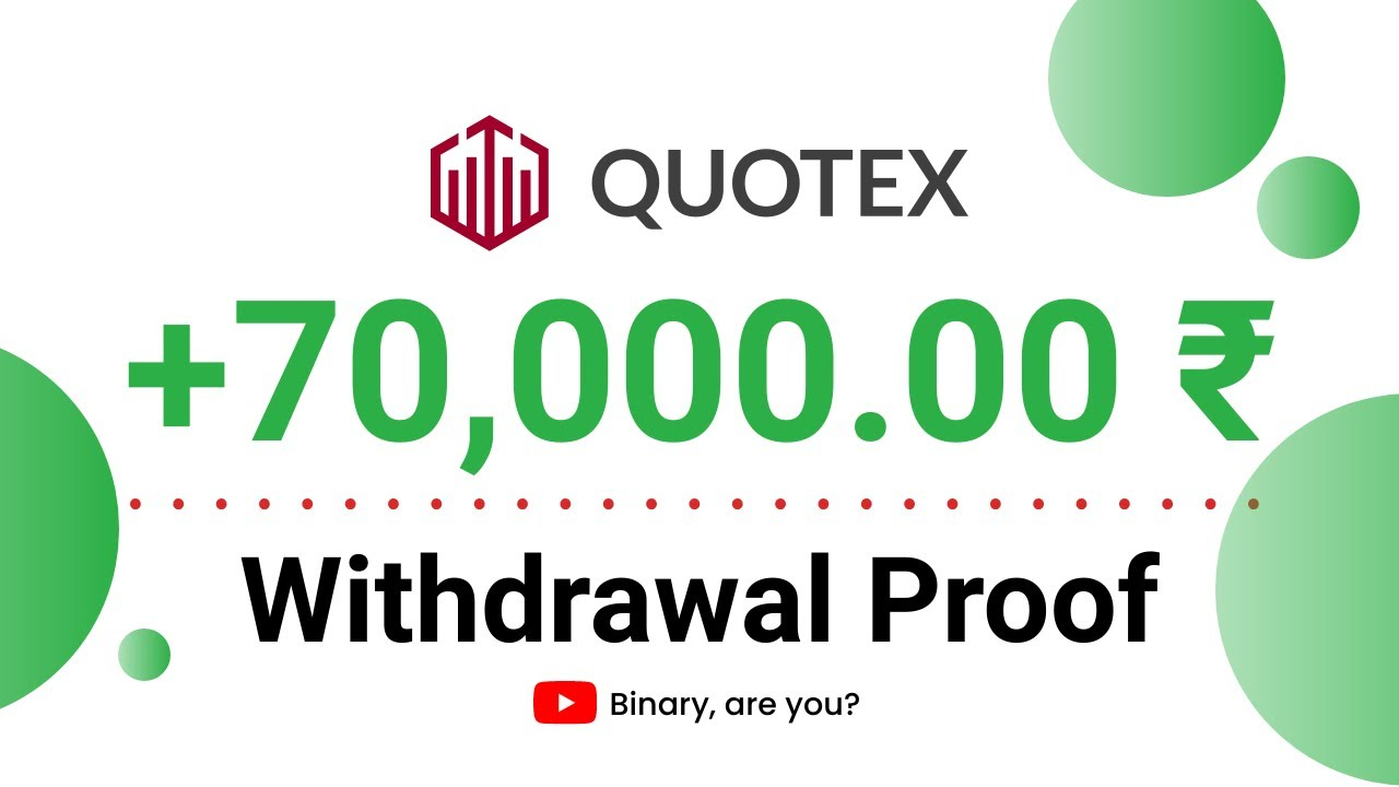 Quotex ₹70,000 Withdrawal Proof in Hindi   Live Withdrawal Proof   Live Account Trading