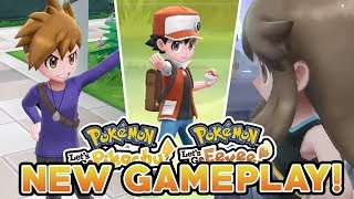 RED, BLUE & GREEN CONFIRMED! EVERY GYM LEADER & ELITE FOUR MEMBER! POKEMON LET'S GO NEW GAMEPLAY!