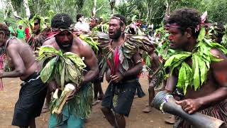 PNG Tribal Welcome Dance