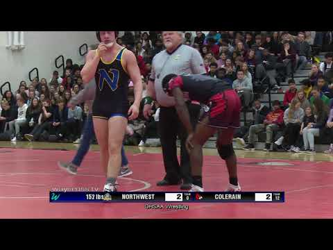 Northwest Vs Colerain High School Wrestling - January 17, 2020