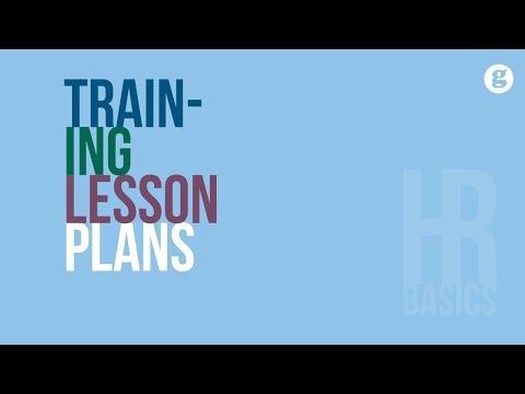 HR Basics: Training Lesson Plans