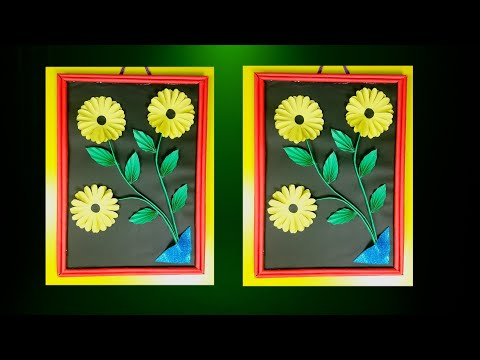 Amazing Wall Hanging Idea with Old Shopping Bag | Awesome Home Decorative Idea | Old Shopping Bag
