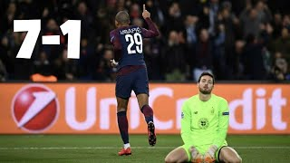 PARIS SAINT-GERMAIN CELTIC 7-1