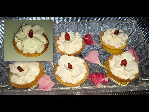 tartelettes-à-la-crème-et-au-caramel-طارطوليت-المناسبات-مع-طريقة-سهلة-للمبتدئات-لتشكيل-العجين