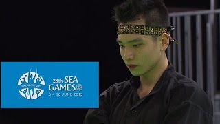 Pencak Silat Artistic Male Singles- Finals Highlights 1st (Day 5) | 28th SEA Games Singapore 2015