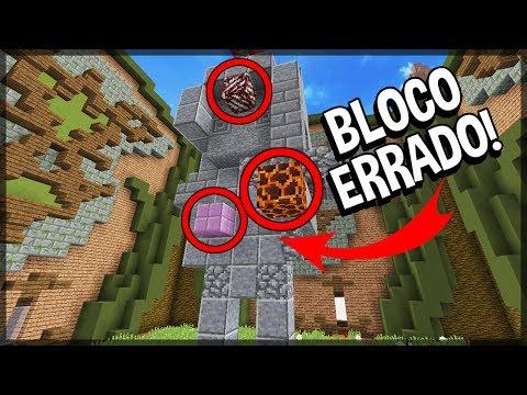 Minecraft: SERÁ QUE EU GANHO SEM PODER DESTRUIR BLOCOS? (BUILD BATTLE)