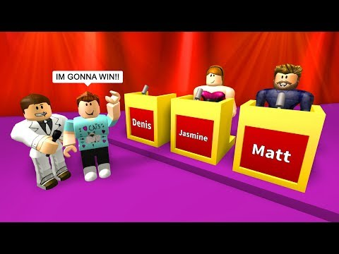 I GOT INTO A ROBLOX GAME SHOW!