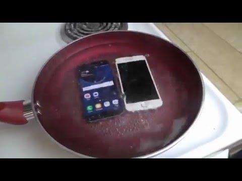 Heboh..!! Samsung S6 dan S7 test di Masak dengan Air Mendidih | Terbaru