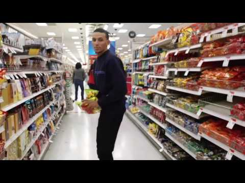 Grocery shopping for candy and juice with Piavi