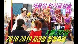 💗까꿍이 버드리응원단열광응원전 구름관중 1월20일 주간 💗2018 2019 자라섬 씽씽축제