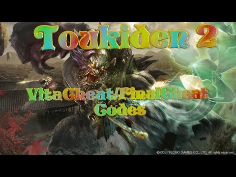 Toukiden 2 - Cheat Codes using VitaCheat/FinalCheat - YouTube