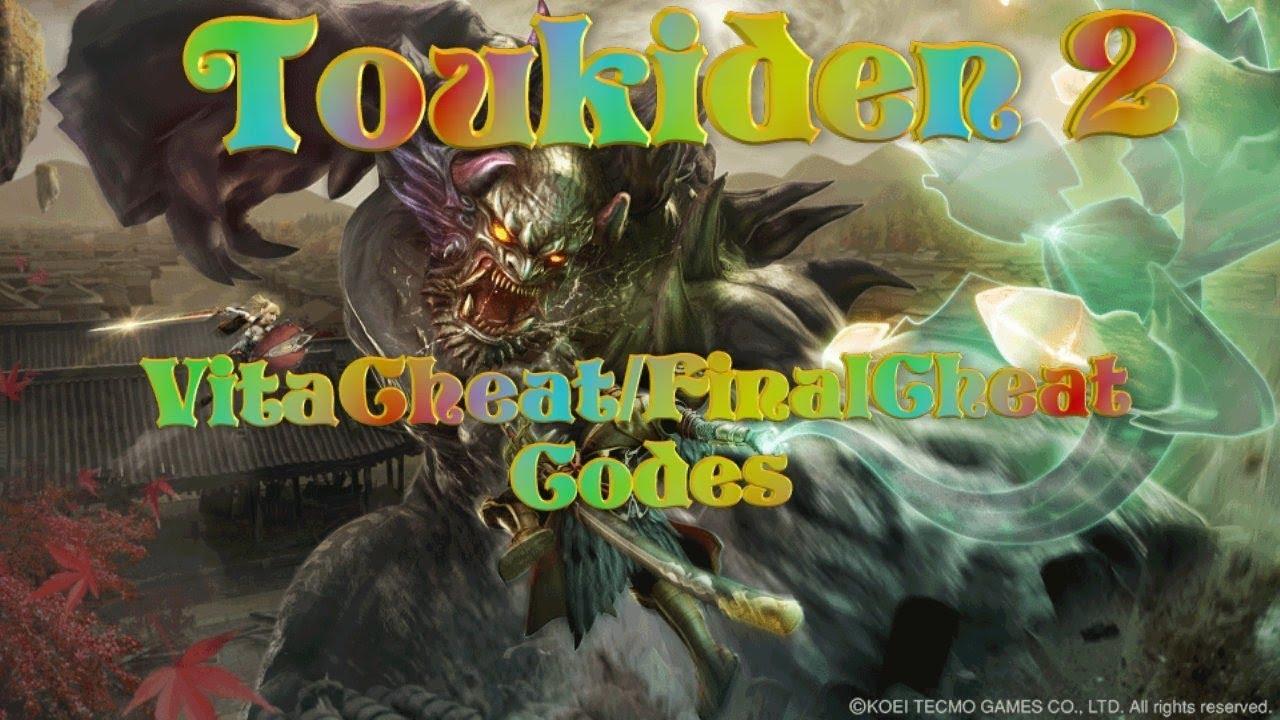 Toukiden 2 - Cheat Codes using VitaCheat/FinalCheat