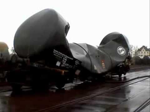 Railroad tank car vacuum implosion