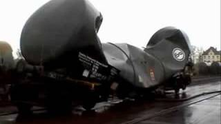 Railroad tank car vacuum implosion