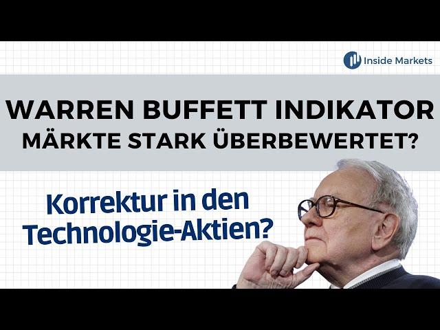 Warren Buffett Indikator sagt Crash voraus - Werden jetzt die Kurs fallen?