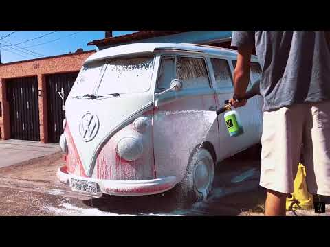 The Pink vw Camper 67 | 77LL Perfect Clean