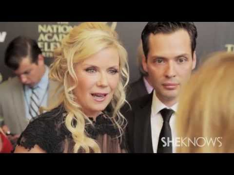 Katherine Kelly Lang at the Daytime Emmy Awards  SheKnows Goes to the s