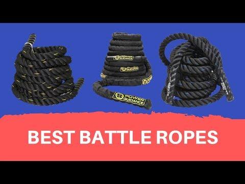 Battle Ropes Top 5 Best Battle Ropes Reviews 2020