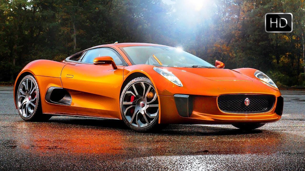 Jaguar C Supercar From James Bond Spectre Design Test