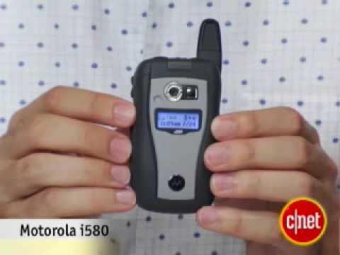 Sprint Motorola i580 -CNET Review